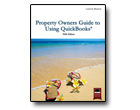 Proeprty Owners Guide to Using QuickBooks Book Cover